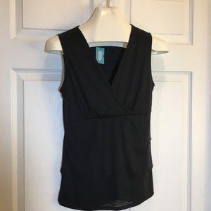Maurice's Blouse Black, Size Medium